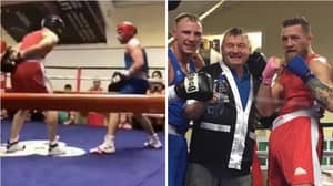 Conor McGregor Returns To Boxing Ring In Bout Against Amateur Fighter