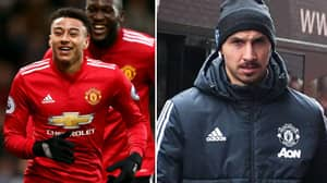What Zlatan Ibrahimovic Did To Jesse Lingard While He Was Talking To Reporters