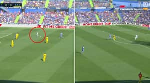 Marc-Andre Ter Stegen Pulls Off An Incredible Assist To Luis Suarez For Barcelona's Opener