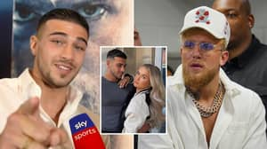 Tommy Fury Sends Terrifying Warning To Jake Paul For Dragging Molly-Mae Into Feud