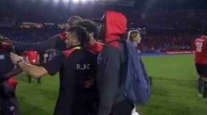 DR Congo Players Took Selfies With Mo Salah After 2-0 Loss To Egypt