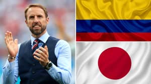 England Will Play Colombia Or Japan In The Last 16 Of The World Cup