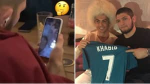 "Khabib FaceTimes Cristiano Ronaldo As Teammate Jokes UFC Champ Is ""Putting Together A Serious Team"""