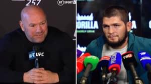 Khabib Nurmagomedov Tells Dana White He's 'Levels Above' Everyone