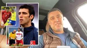 Former Inter Milan And Turkey Legend Hakan Sukur Is Now An Uber Driver