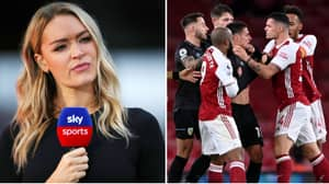 Presenter Laura Woods Launches Scathing Attack On Granit Xhaka And His Arsenal Teammates