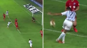 Eran Zahavi Scores Rabona Goal That's The Best You'll See This Weekend