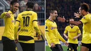 Henrikh Mkhitaryan And Pierre-Emerick Aubameyang's Partnership At Dortmund Was Lethal