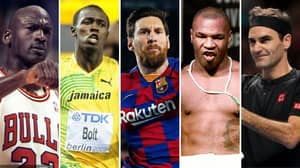 The 50 Greatest Sports Athletes Of All Time Have Been Ranked By Fans