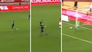 Memphis Depay Produces Insane 35 Yard Nutmeg Goal Against Monaco