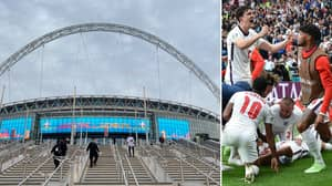 England Told 'It's Not Fair' They've Been Allowed To Play Most Euro 2020 Games At Wembley