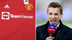 Manchester United's New Home Kit Has Been Leaked And Gary Neville Is Not A Fan
