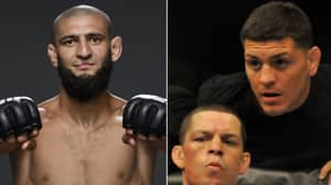 UFC's Khamzat Chimaev Wants To Fight Demian Maia And Nate And Nick Diaz On Same Night