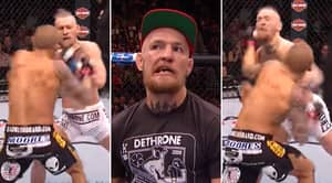 Dustin Poirier Broke Conor McGregor's Tooth In Half With Brutal Left Hook