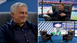 Conor Moore Does His Jose Mourinho Impression In Front Of Jose Mourinho And It's Absolutely Brilliant