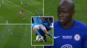 N'Golo Kante's Individual Highlights Against Manchester City Proves He's An All-Time Great