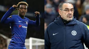 Sarri Plays Down Hudson-Odoi Performance As Talk Of The Youngster Leaving Gathers Pace