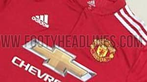 LEAKED: Manchester United's New Home Shirt For The 2017/18 Season