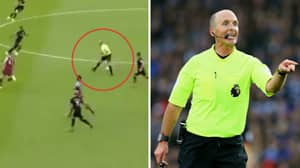 It Took Mike Dean Just Three Minutes To Produce His First Dummy Of The Season