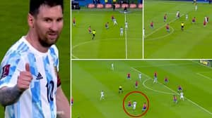 Highlights Show Lionel Messi Effortlessly Dropped A Masterclass For Argentina Against Chile