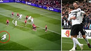 Watch: Liverpool Loanee Harry Wilson Scores Outrageous Free-Kick Against Manchester United