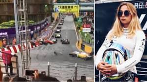 F3 Driver Sophia Floersch Taken To Hospital After Terrifying Crash