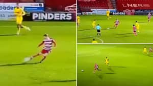 Doncaster Rovers Midfielder Produces The Most Beautiful Pass