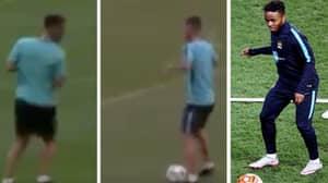 Eden Hazard's Raheem Sterling Impression Is Spot On