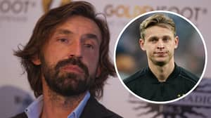 Frenkie De Jong Is One Of The Best Midfielders Currently In Football, Says Andrea Pirlo