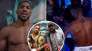 Anthony Joshua Reveals What Boxing Legend Floyd Mayweather Told Him After Kubrat Pulev Fight