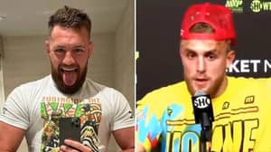 Jake Paul Issues Response After Thinking Conor McGregor's 'Salivating' Tweet Was About Him