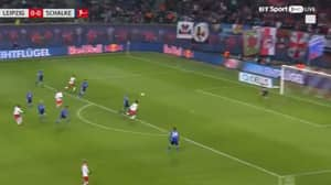 Watch: Naby Keita Gets Lucky With Long Distance Effort Against Schalke