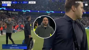 Pep Guardiola's Reaction To Disallowed Goal Against Spurs Is Genuinely Priceless