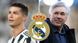 Carlo Ancelotti Wants Cristiano Ronaldo Back At Real Madrid