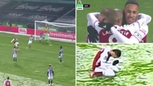 Arsenal Fans Loved Dani Ceballos' Passionate Reaction To Alexandre Lacazette's Goal Against West Brom