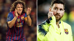 Carles Puyol's Brilliant Dig At Ballon d'Or Result After Lionel Messi Brace
