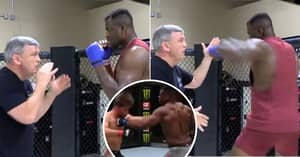 Mike Tyson's Ex-Coach Trained Francis Ngannou To Throw Hook Which Knocked Out Stipe Miocic