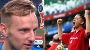 Ivan Rakitic Gave A Gracious Interview After Beating Russia In World Cup Quarter Final