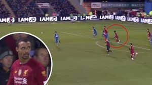 Mo Salah Tried To Pass To Joel Matip After Replacing Him Against Shrewsbury