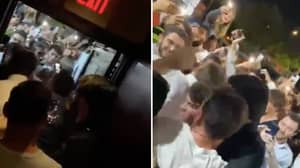 Lionel Messi Was Absolutely Hounded By Fans Outside Restaurant In Miami
