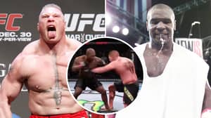 YouTuber's UFC Simulation For Mike Tyson Vs Brock Lesnar Ends In A Brutal Knockout
