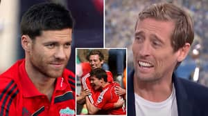 Peter Crouch Hilariously Recalls Awkward Incident Involving Xabi Alonso When He Joined Liverpool