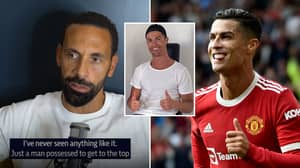 Rio Ferdinand Was Left 'Stunned' Entering Cristiano Ronaldo's House, It Sums Up His Mentality Perfectly