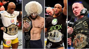 The 25 Greatest UFC Champions Of All Time Have Been Named And Ranked