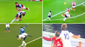 Compilation Of Harry Kane's Controversial 'Backing In' Tactic Shows It's Extremely Dangerous