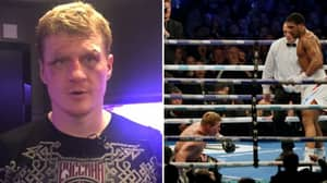 Aleksandr Povetkin Shows Off His Battered Face After Anthony Joshua Loss
