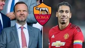 Manchester United Demanded £18.1m For Chris Smalling And Only Got £2.7m From Roma