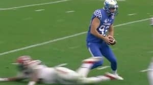 American Sports Fans In Awe After Aussie Punter Produces 'AFL Step' In College Football Game