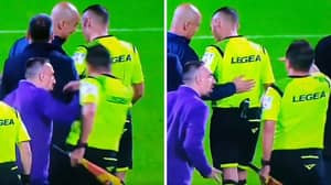 Franck Ribery Set To Receive Lengthy Ban After Shoving Linesman At Full-Time