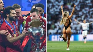 Champions League Final Streaker Claims She's Received Messages From Liverpool Players
